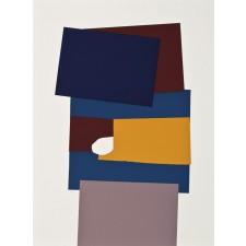 gerardo rueda, serigrafia, museo arte abstracto cuenca