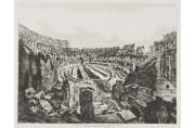 Interior del Coliseo excavado