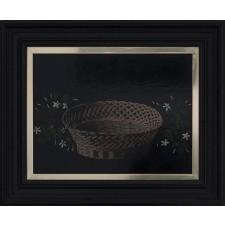 paco cortijo, óleo, cesta