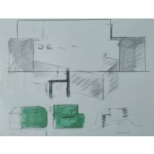 sergi aguilar, litografía, año 1999